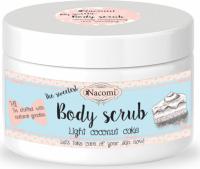 Nacomi - Body Scrub - Peeling do ciała - Lekki kokosowy tort - 200g