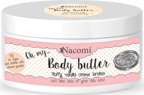 Nacomi - Body Butter - Masło do ciała - Waniliowe crème brulee
