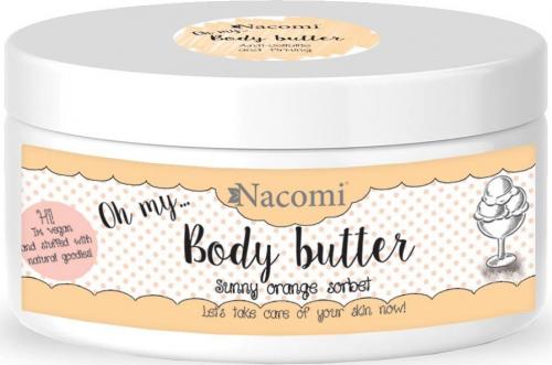 Nacomi - Body Butter - Antycellulitowe masło do ciała - Pomarańczowy sorbet