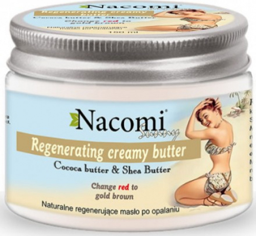 Nacomi - Regenerating After Sun Body Butter - Regenerujące masło do ciała po opalaniu - 150ml