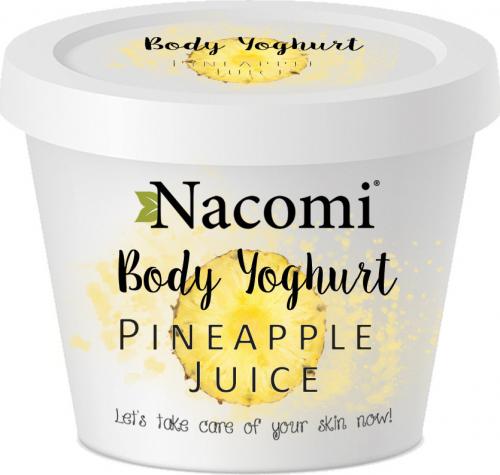 Nacomi - Body Yoghurt - Jogurt do ciała - Orzeźwiający Ananas