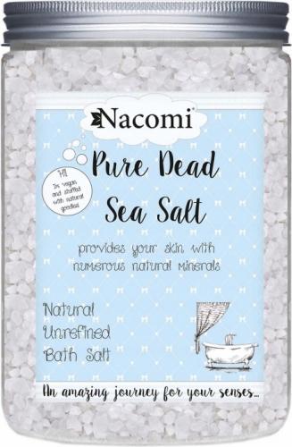 Nacomi - Pure Dead Sea Salt - Naturalna sól do kąpieli z Morza Martwego - 1400g