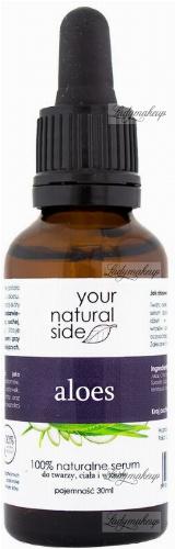 Your Natural Side - 100% naturalne serum z aloesu - 30 ml