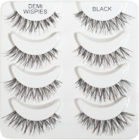ARDELL - Natural Multipack - Set of 4 pairs of lashes on the strap - DEMI WISPIES BLACK - DEMI WISPIES BLACK