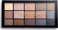 Makeup Revolution - RE-LOADED Shadow Palette - zestaw 15 cieni do powiek - SMOKY NEUTRALS