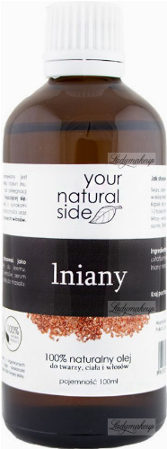 Your Natural Side - 100% naturalny olej lniany - 100 ml