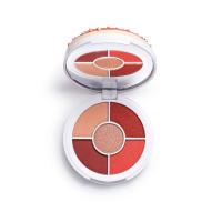 I HEART REVOLUTION - Donuts Eyeshadow Palette - Paleta 5 cieni do powiek - Strawberry Sprinkles