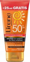 Lirene - Sun - Wodoodporna emulsja do opalania do skóry wrażliwej - SPF50 - 150ml + 25ml