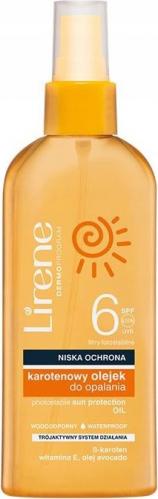 Lirene - Sun - Wodoodporny, karotenowy olejek do opalania w sprayu - SPF6 - 150ml