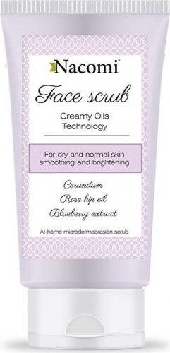 Nacomi - Face Scrub - Wygładzający peeling do twarzy - 85ml