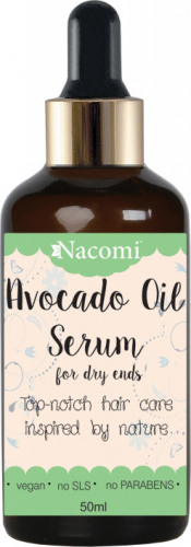 Nacomi - Avocado Oil Serum - Serum do włosów z olejem avocado - 50 ml