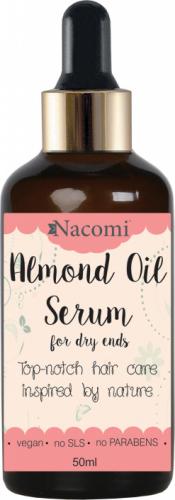 Nacomi - Almond Oil Serum - Serum do włosów z olejem ze słodkich migdałów - 50 ml