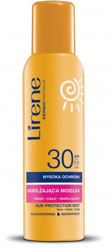 Lirene - SUN PROTECTION MIST - Nawilżająca mgiełka ochronna - SPF30 - 150 ml