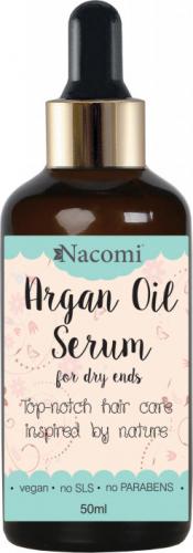 Nacomi - Argan Oil Serum - Serum do włosów z olejem arganowym - 50 ml