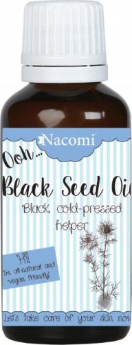 Nacomi - Black Seed Oil - Olej z nasion czarnuszki - Nierafinowany - 30 ml