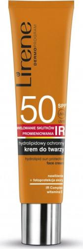 Lirene - Hydrolipidowy ochronny krem do twarzy - SPF50 - 40ml