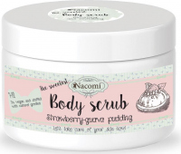 Nacomi - Body Scrub - Body peeling - Strawberry pudding with guava - 200g