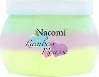 Nacomi - Rainbow Mousse - Tęczowy mus do ciała - Słodki arbuz - 200ml