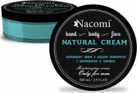 Nacomi - NATURAL CREAM For Men - Naturalny krem dla mężczyzn - 100ml