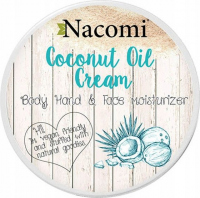 Nacomi - Coconut Oil Cream - Krem do twarzy, ciała i rąk - Kokosowy