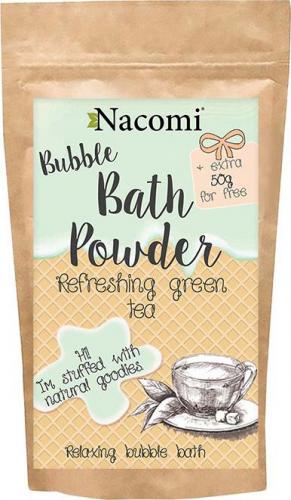 Nacomi - Bath Powder - Puder do kąpieli - Orzeźwiająca zielona herbata - 100g + 50g