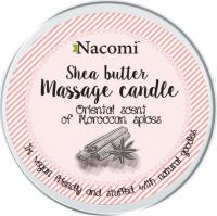 Nacomi - Shea Butter Massage Candle - Naturalny balsam w świecy - Marokańskie Przyprawy - 150ml