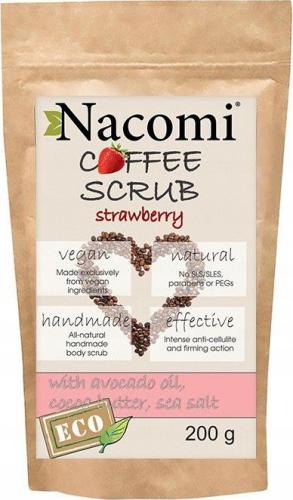 Nacomi - Coffee Scrub - Peeling kawowy - Truskawkowy