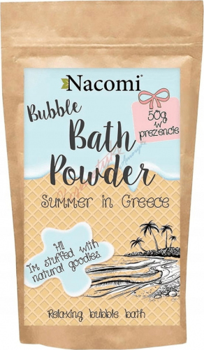 Nacomi - Bath Powder - Puder do kąpieli - Greckie lato - 100g + 50g