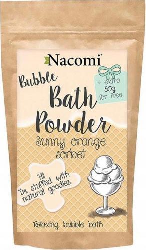 Nacomi - Bath Powder - Puder do kąpieli - Pomarańczowy sorbet - 100g + 50g