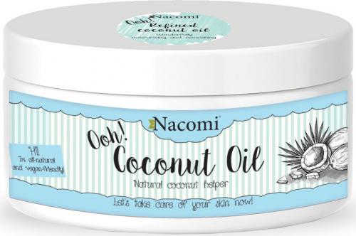 Nacomi - Refined Coconut Oil - Olej kokosowy - Rafinowany