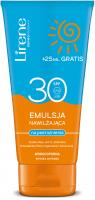 Lirene - EMULSJA NAWILŻAJĄCA na podrażnienia - SPF30 - 150 ml + 25 ml