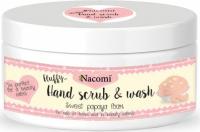 Nacomi - Hand Scrub & Wash - Pianka peelingująco myjąca do dłoni - Papaja