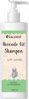 Nacomi - Avocado Oil Shampoo - Hair shampoo with keratin and avocado oil - 250ml