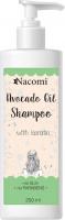 Nacomi - Avocado Oil Shampoo - Szampon do włosów z keratyną i olejem avocado - 250ml