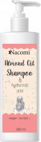 Nacomi - Almond Oil Shampoo - Almond hair shampoo - 250ml