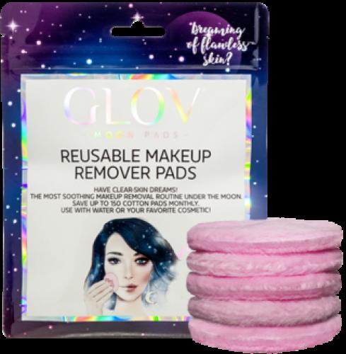 GLOV - Moon Pads - Reusable Makeup Remover Pads - Płatki kosmetyczne wielorazowego użytku do demakijażu - 5szt