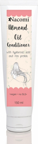 Nacomi - Almond Oil Conditioner - Odżywka do włosów z olejem ze słodkich migdałów - 150ml