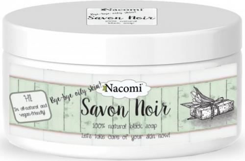 Nacomi - Savon Noir - 100% naturalne czarne mydło -  200g