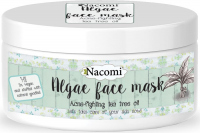 Nacomi - Algae Face Mask - Przeciwtrądzikowa maska algowa do twarzy - Zielona herbata