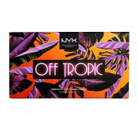NYX Professional Makeup - OFF TROPIC - Shadow Palette - Paleta 10 cieni do powiek - 02 SHIFTING SAND