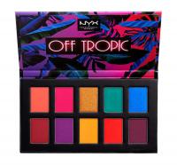 NYX Professional Makeup - OFF TROPIC - Shadow Palette - 10 eyeshadows - 01 HASTA LA VISTA