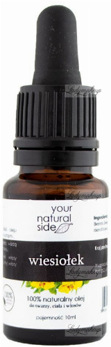 Your Natural Side - 100% naturalny olej z wiesiołka - 10 ml