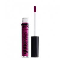 NYX Professional Makeup - Glitter Goals Liquid Lipstick - Matowo-metaliczna pomadka w płynie - X INFINITY - X INFINITY
