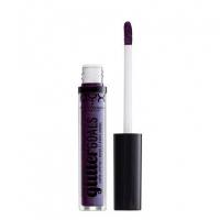 NYX Professional Makeup - Glitter Goals Liquid Lipstick - Matowo-metaliczna pomadka w płynie - AMETHYST VIBES - AMETHYST VIBES
