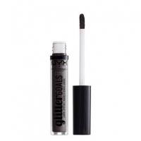 NYX Professional Makeup - Glitter Goals Liquid Lipstick - Matowo-metaliczna pomadka w płynie - ALIENATED - ALIENATED