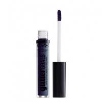 NYX Professional Makeup - Glitter Goals Liquid Lipstick - Matowo-metaliczna pomadka w płynie - OIL SPILL - OIL SPILL