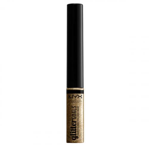 NYX Professional Makeup - Glitter Goals Liquid Liner - Brokatowy eyeliner w płynie