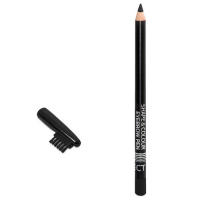 AFFECT - SHAPE & COLOR EYEBROW PEN - Eyebrow pencil with brush - BLACK - BLACK