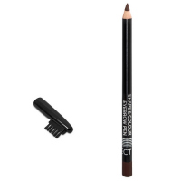 AFFECT - SHAPE & COLOR EYEBROW PEN - Eyebrow pencil with brush - DARK BROWN - DARK BROWN