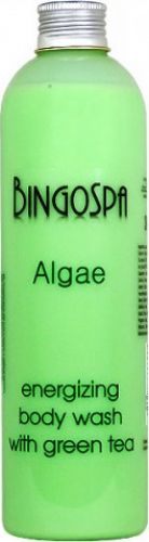BINGOSPA - Algae - Energizing Body Wash - Energizing algae shower with green tea - 300ml
